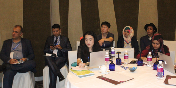 Participants Attending Conference
