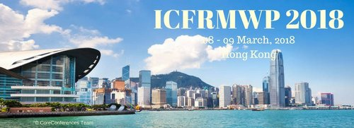 ICFRMWP 2018 Conference