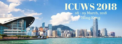 ICUWS 2018 Conference