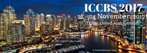 ICCBS 2017 Conference